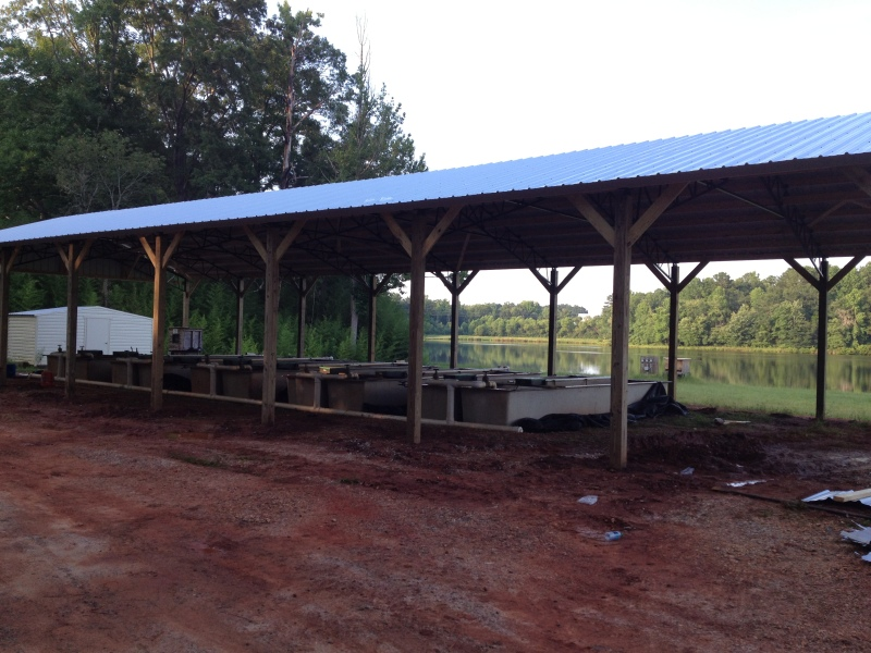 Wood project university of tennessee barn plans here for Pole barns tennessee